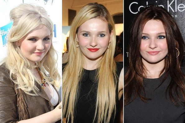 Abigail Breslin hairstyle long VS short