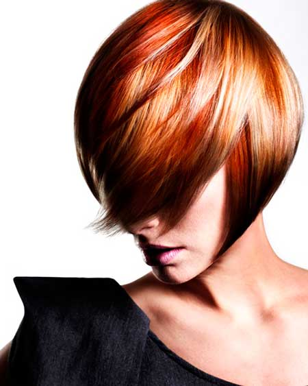 Easy hair color for short hairstyle
