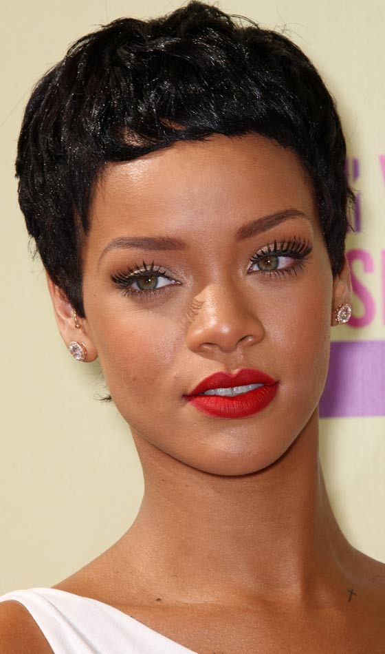 Rihanna Short Hairstyles 2020 Front And Back View