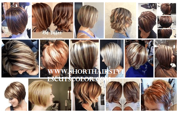 Short Hairstyles With Highlights And Lowlights