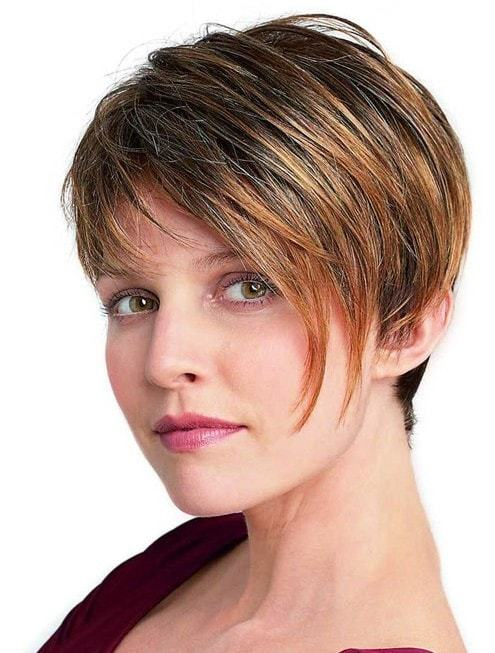 Short hairstyle for young ladies