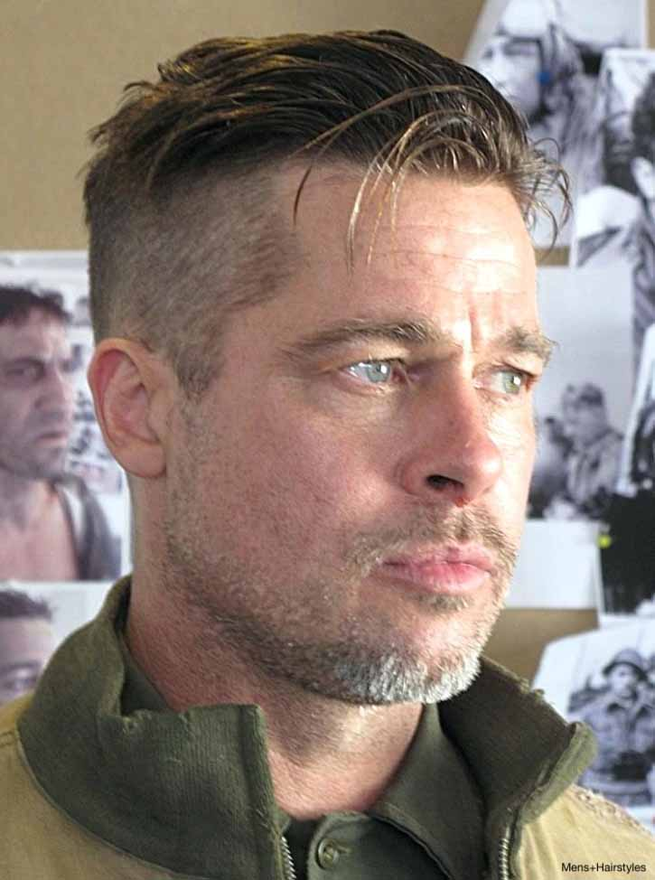 Brad Pitt new haircut idea pattern