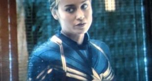 Brie Larson Brushed up Bob
