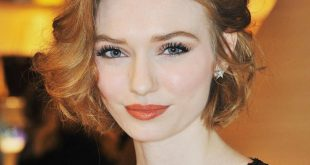 Eleanor Tomlinson Short Hair With Natural Hair Color Age Wise