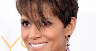 Halle Berry Classic Pixie Haircut