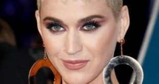 Katy Perry Short Pixie with Straight Baby Bangs
