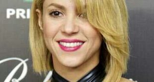 Shakira Short Hair 2020 Front And Back View Curly Straight