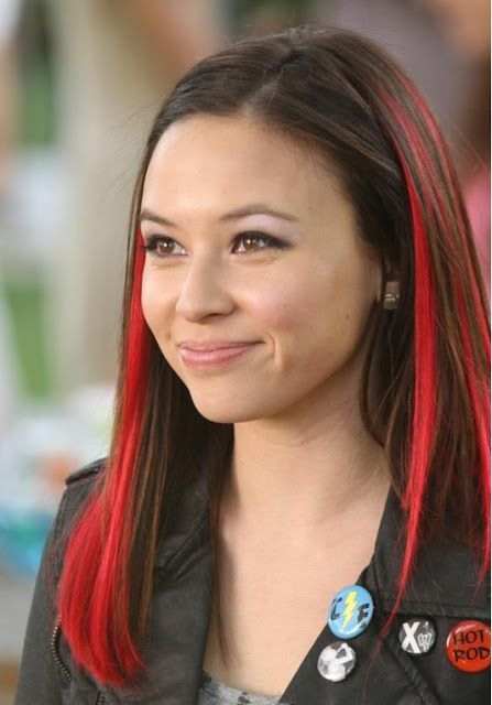 Malese Jow Short red hair
