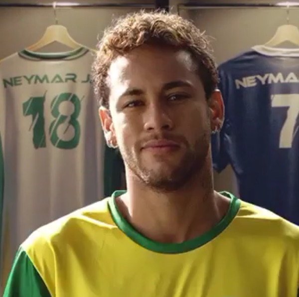Neymar natural hair curly pictures