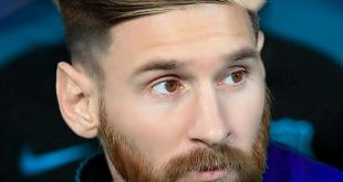 Lionel Messi's Facial Hairstyle