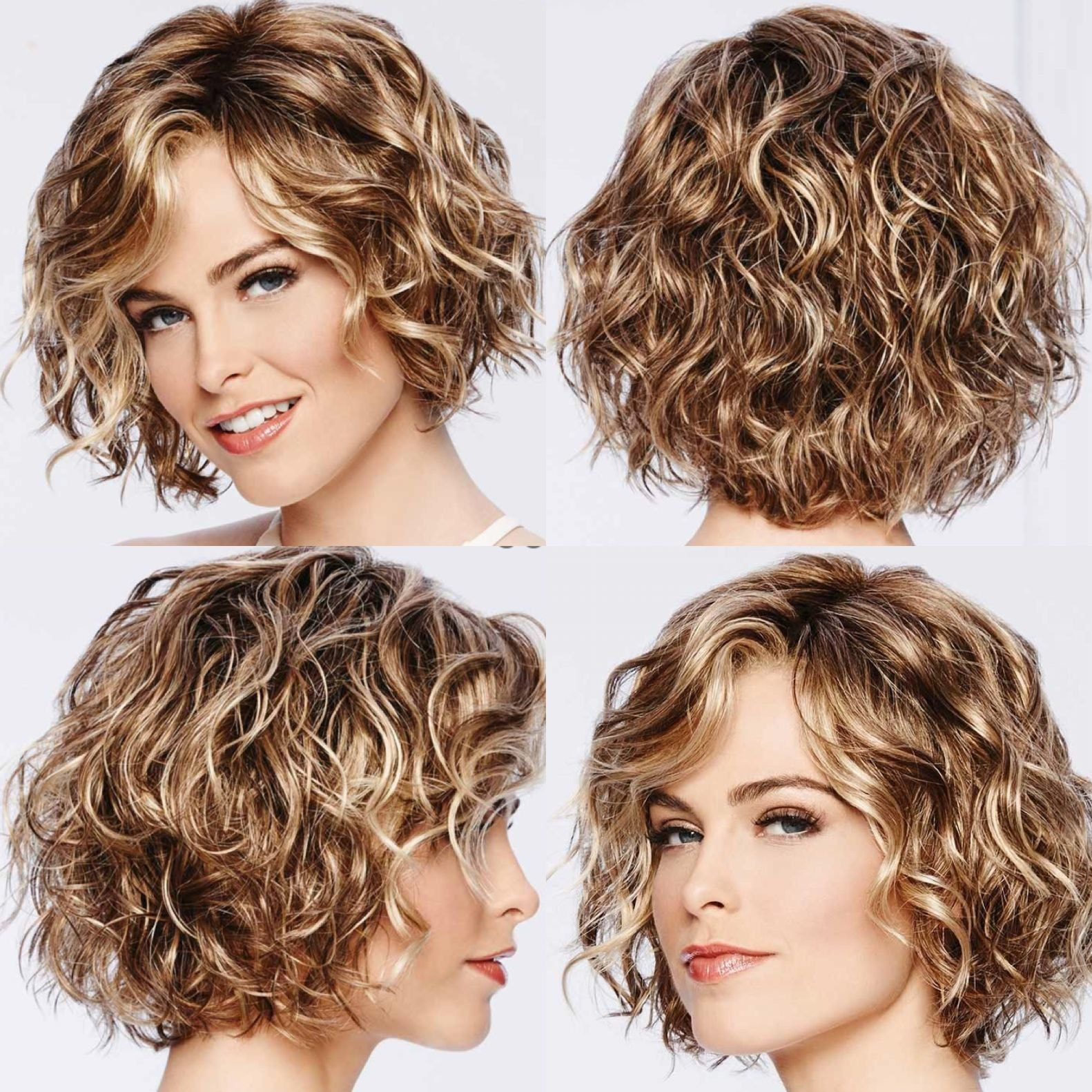 Perm Short Hair types