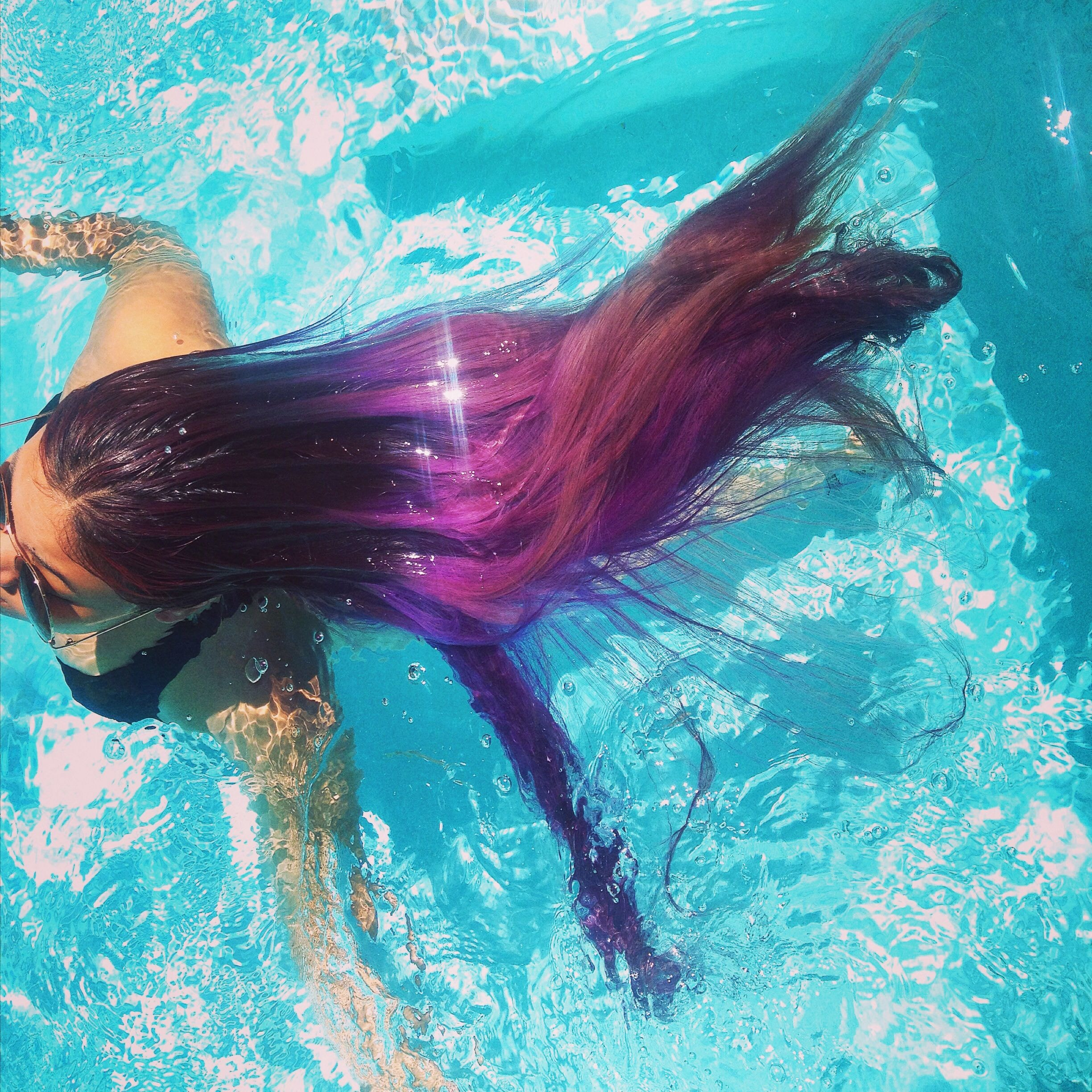 Chlorine Proof Purple Hair dye 2020