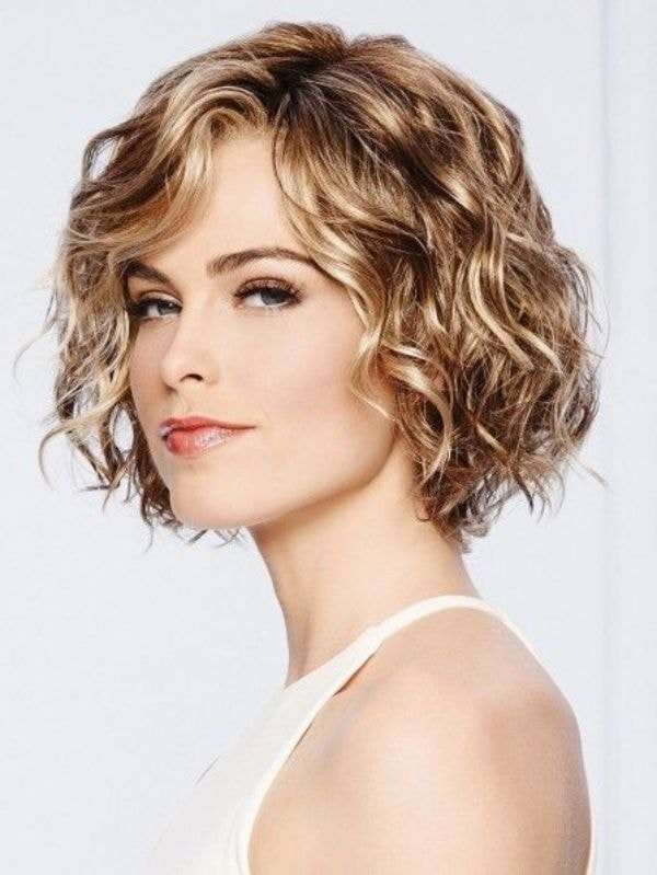 Spiral Perm short hair