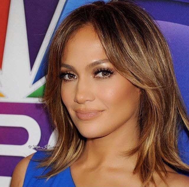 Jennifer Lopez Short Hair young age